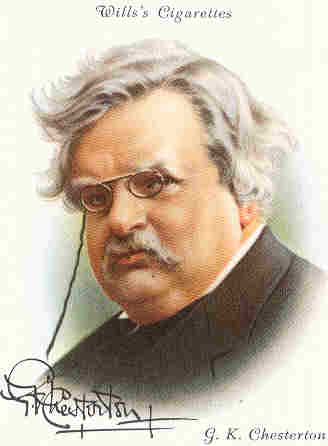 Chesterton- cartoon